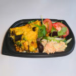 Spinach, Feta Cheese & Sweet Potato Frittata Salad Box