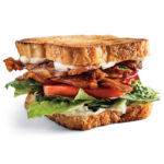Bacon, Lettuce, Tomato with Mayonnaise  Sandwich