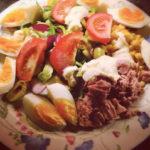 Tuna & Egg Garden Salad Box