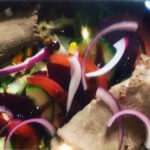 Beef Garden Salad Box with a Chilli & Horseradish Dressing